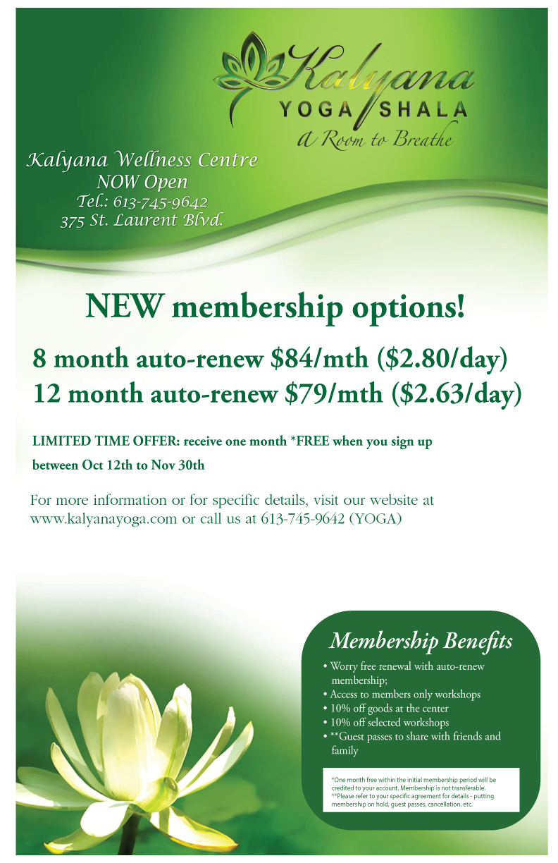 Memberships! | Kalyana Yoga Shala