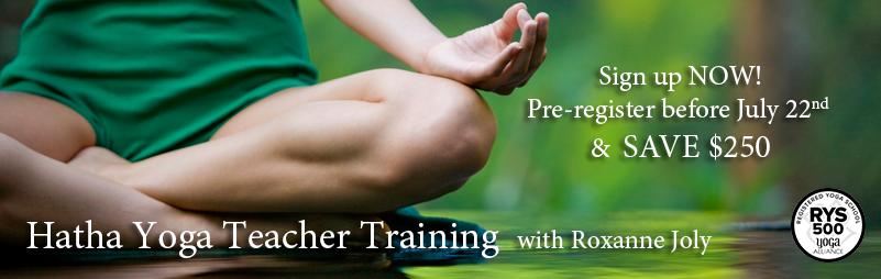 Hatha Yoga Teacher Training – Fall 2016