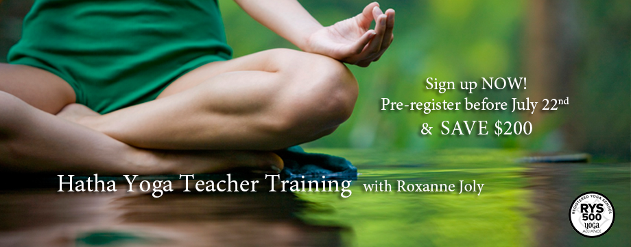 Hatha Yoga Teacher Training – Fall 2016